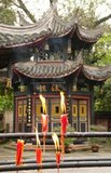 Baoguo Si (Declare Nation Temple), at the foot of Mount Emei, was first constructed in the 16th century during the Ming Dynasty (1368 - 1644)<br/><br/>  At 3,099 metres (10,167 ft), Mt. Emei is the highest of the Four Sacred Buddhist Mountains of China. The patron bodhisattva of Emei is Samantabhadra, known in Chinese as Puxian. 16th and 17th century sources allude to the practice of martial arts in the monasteries of Mount Emei.