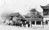 The 19th century Shanghai Customs House, built in Chinese style, was replaced with a larger European style customs house in 1893.